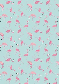 Tropicana Flamingos on Aqua by Lewis & Irene  Please select Fat Quarter, Half Yard or One Yard cut Youll also find a variety of bundles available