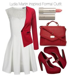 """""""Teen Wolf - Lydia Martin Inspired Formal Outfit"""" by staystronng ❤ liked on Polyvore featuring moda, Lipsy, Mossimo, J.TOMSON, Forever 21 y Ilia"""
