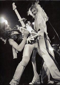 Eddie Van Halen & David Lee Roth