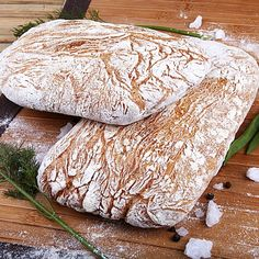 """Photo from album """"Чиабатта"""" on Yandex. Bread Recipes, Cookie Recipes, Garlic Naan, Naan Recipe, Cheese Pies, Home Bakery, Bread Bun, Proper Nutrition, Culinary Arts"""