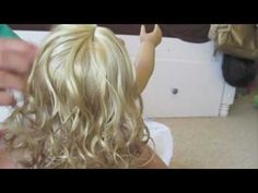 How to Fix Elle's American Girl Curly Hair Doll