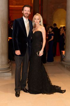Billy and Vanessa Getty attend Trevor Traina's Mid-Winter Gala in San Francisco. #powercouple