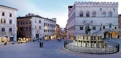 Good morning with a picture of the stunning city of Perugia in Umbria. Holiday World Indiana, Places Ive Been, Places To Go, Perugia Italy, Park Hotel, Places Of Interest, Beautiful Places, Around The Worlds, Street View