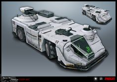sci-fi weapon vehicle - Buscar con Google
