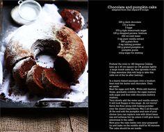 chocolate+and+pumpkin+cake+by+Dan+Lepard.jpg 680×548 pixels