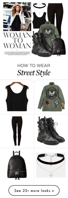 """Gigi"" by lululafitte on Polyvore featuring Dorothy Perkins, ASOS, Giuseppe Zanotti and MICHAEL Michael Kors"