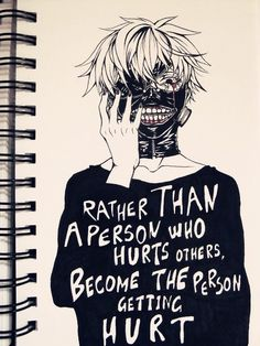 """""""Become the person getting hurt."""""""