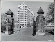Dijkzigt ziekenhuis vanuit Het Park