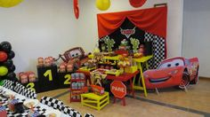Cars (Disney movie) Birthday Party Ideas | Photo 10 of 21