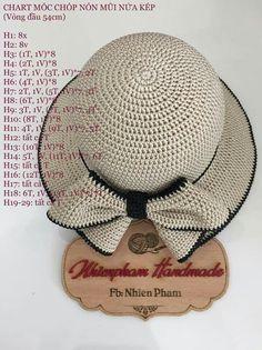 Crochet ideas that you'll love Crochet Hat With Brim, Ribbed Crochet, Crochet Summer Hats, Diy Crochet, Knitted Hats, Crochet Hats, Crochet Stitches, Crochet Patterns, Sombrero A Crochet