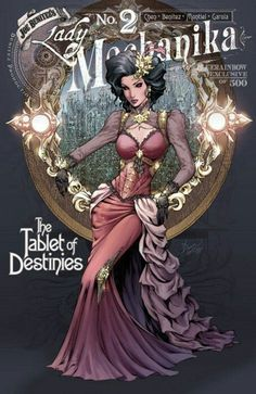 Lady Mechanika: Tablet of Destinies # 2 - BlueRainbow Variant Cover by Dawn McTeigue & Peter Steigerwald Steampunk Book, Steampunk Artwork, Mode Steampunk, Steampunk Couture, Steampunk Cosplay, Victorian Steampunk, Steampunk Fashion, Best Comic Books, Comic Books Art