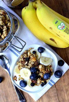 Blueberry Banana Bread Granola