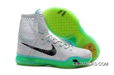 size 40 384c7 d2584 Kobe 10 Elite Grey Black Green TopDeals, Price   126.20 - Adidas  Shoes,Adidas Nmd,Superstar,Originals