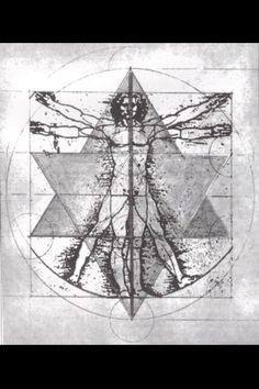 sacred geometry The Vitruvian Man is a drawing created by Leonardo da Vinci circa 1490. It is accompanied by notes based on the work of the architect Vitruvius. http://propositionzen.wordpress.com/2012/12/01/a-circle-of-zen-explaining-the-enso/