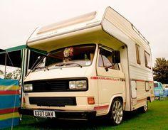 VW Karmann Coachbuilt Camper Van.