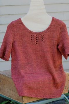 Folly cove sweater knitted by The Woolen Rabbit... i love this color