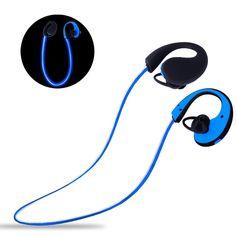 ECANDY スポーツヘッドセットBluetooth4.1 ワイヤレスイヤホン LED発光 防水防汗 (ブルー) おすすめ度*1 ASIN B01KXHLI78 LEDでケーブルコード部分が発光するのが特徴的なスポーツワイヤレスイヤホン。やや暗めの場所でスポーツをしていてもイヤホンが発光するので視認性が高く、事故などに遭いにくい点はよい。イヤーフック部分がやや硬めなので装着感はだいぶ個人差が出そうなところ。形が合う人にはよいが、耳の形が合わない人には少し硬く感じられるかも知れない。aptXには対応しない。遮音性はほとんどなく、音漏れも大きめ。 テストした範囲では遅延はなく、音飛びもほとんどなか…