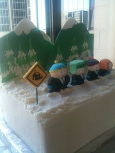 South Park Groom's Cake! The Cupcake Collection