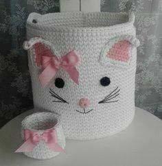 64 Ideas For Crochet Baby Amigurumi Pattern Guys Baby Knitting Patterns, Crochet Basket Pattern, Crochet Chart, Crochet Patterns, Crochet Baskets, Crochet Ideas, Crochet Home, Love Crochet, Knit Crochet