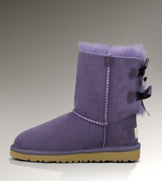 a3898790193bd UGG Bailey Bow 1002954 Purple Boots Ugg Winter Boots