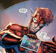 Former Kid Flash Wally West