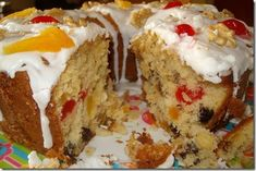 Bolo de frutas Cake Cookies, Cupcake Cakes, Dessert Bread, Chocolate, Cheesecakes, Banana Bread, French Toast, Cooking Recipes, Pudding