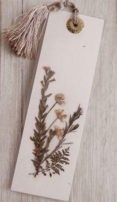 Pressed Flower Bookmark