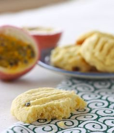Passion Fruit Butter Cookies