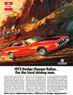 1973 Dodge Charger Rallye Edition advertisement