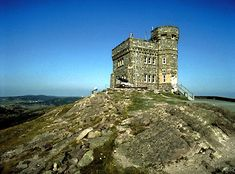 Cabot Tower, Signal Hill, Newfoundland, Canada