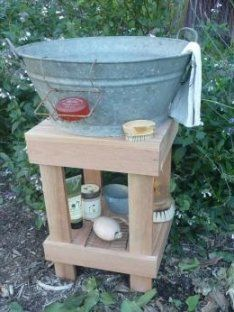 What a great idea, I can put this next to the rain water tank!