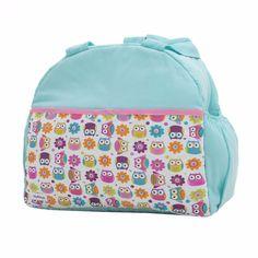 Amplias Pañaleras Para Bebe Bolsa Back Pack Buhos Aqua - $ 399.00 en MercadoLibre