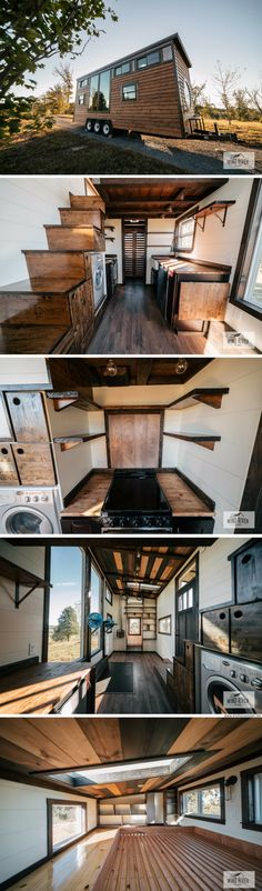 The Silhouette: a tiny house with a Crossfit gym inside!