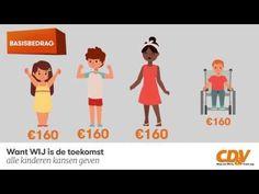 Van kinderbijslag naar groeipakket | (het nieuwe systeem uitgelegd op website CD&V)