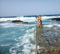 Want a trip? Here you go! On the way to 1949m we love to enjoy the natural swimming pools on the north coast. Gran Canaria ocean - mountains and air #live #surf #city #live #swim #hitidehostel...