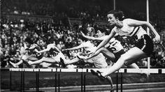 Women's Hurdles at the London 1948 Olympic Games #Olympics Olympics