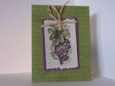 Tuscan Grape card