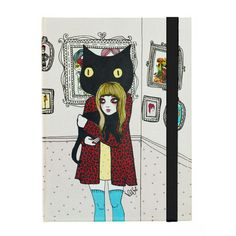 Cat Love Journal Book hardcover - Are you a cat lover? perfect journal   Valfré #ValfreWishList