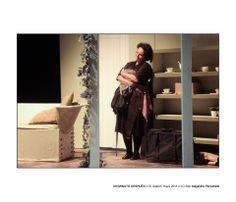 """Escenografia, """"Un Minuto despúes"""" Teatro El Galpón Montevideo"""