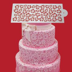 Newest lace cake stencil beautiful for wedding cake decorating on Aliexpress.com | Alibaba Group