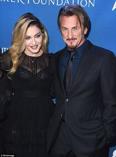 Back together? Madonna and Sean Penn appeared side by side at the actor's Help Haiti Home benefit on Saturday