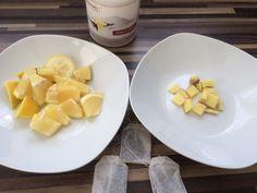 Leckerer Eistee mit Zitrone und Ingwer