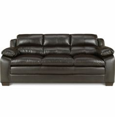 Edgemont sofa leather furniture sets living rooms for Leather sofa michigan