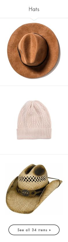 """""""Hats"""" by xo-nikita ❤ liked on Polyvore featuring accessories, hats, beanies, fillers, logo hats, krochet kids hats, krochet kids beanie, logo beanie hats, beanie cap hat and pink"""