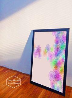 Purple dandelions lines Art Print by yamymorrellartanddesign Digital Prints, Digital Art, Dandelions, Line Art, Creative Design, Mockup, Giclee Print, Saatchi Art, Abstract Art