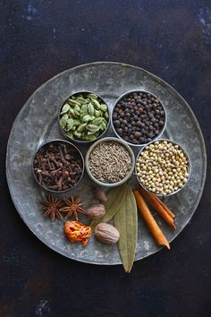 Garam Masala is a spice blend commonly used for cooking in the Indian subcontinent. Learn how to make homemade garam masala powder. Garam Masala Powder Recipe, Masala Recipe, Cooking Icon, Cooking Recipes, Food Wallpaper, Homemade Spices, Food Photography Tips, Recipe Steps, Fruits And Veggies