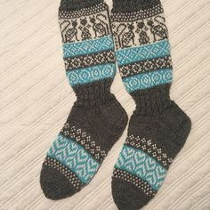 Ravelry: Project Gallery for Talvitassut pattern by Sanna Hepo-oja Socks For Sale, Sock Yarn, Main Colors, Ravelry, Free Pattern, Two By Two, It Cast, Sewing Patterns Free