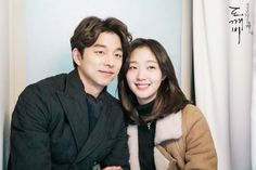 """tvN drama Goblin lead on a TV popularity chart . Infinite Challenge second place . """"Goblin"""" an fantasy drama . Korean Actresses, Korean Actors, Korean Dramas, Asian Actors, Kpop, Goblin The Lonely And Great God, Ji Eun Tak, Strong Couples, Kwon Hyuk"""