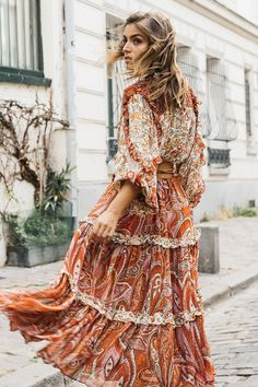 Moda Boho, New Arrival Dress, Summer Set, Bohemian Look, Boho Festival, The Chic, Boho Outfits, Pink And Gold, Princesses