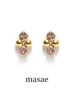 【masae】別注 MAYA PIERCES #シータ・ミュー Stud Earrings, Accessories, Jewelry, Fashion, Moda, Jewlery, Jewerly, Fashion Styles, Stud Earring